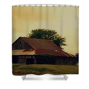 Golden Country Shower Curtain