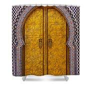 Golden Door Shower Curtain