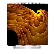 Golden Eagle Shower Curtain
