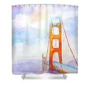 Golden Gate Bridge 2 Shower Curtain
