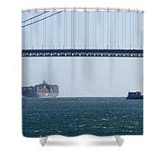 Golden Gate Bridge 3 Shower Curtain