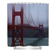 Golden Gate Bridge Shower Curtain