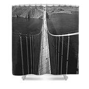 Golden Gate Bridge In 1937 Shower Curtain