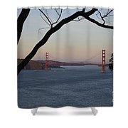 Golden Gate Bridge - San Francisco California Shower Curtain