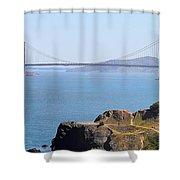 Golden Gate Panorama 8027 8030 Shower Curtain