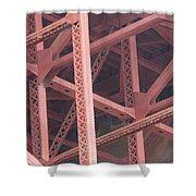 Golden Gate's Skeleton Shower Curtain