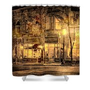 Golden Glow Shower Curtain by William Beuther