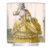 Golden Gown, Engraved By Dupin, Plate Shower Curtain