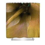 Golden Hibiscus 2616 Shower Curtain