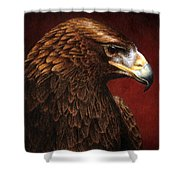 Golden Look Golden Eagle Shower Curtain