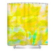 Golden Music Shower Curtain