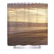 Golden Road Shower Curtain