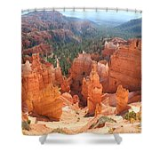 Golden Rocks Of Bryce Canyon  Shower Curtain