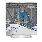 Golden State Warriors Shower Curtain