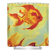 Goldfish 1 Shower Curtain