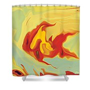 Goldfish 2 Shower Curtain