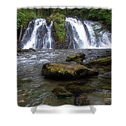 Goldrush Falls Shower Curtain