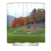 Golf Course At Lake Toxaway Shower Curtain