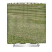 Golf Grass Shower Curtain