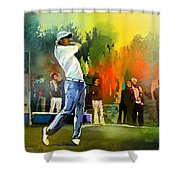Golf In Gut Laerchehof Germany 01 Shower Curtain