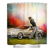 Golf In Gut Laerchehof Germany 03 Shower Curtain