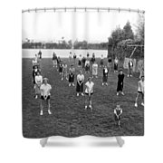 Golf Lessons For Women Shower Curtain