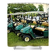 Golfers Take Your Pick Shower Curtain