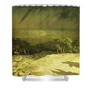 Golgotha Shower Curtain by Jean Leon Gerome