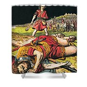 Goliath Shower Curtain