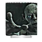 Gollum Shower Curtain