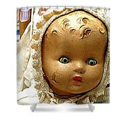 Golly Dolly Shower Curtain