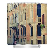Gondola In Venice  Shower Curtain