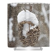Gone South For The Winter Shower Curtain
