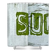 Gone Surfing Shower Curtain