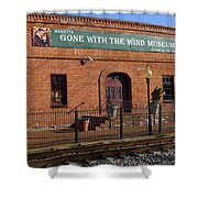 Gone With The Wind Museum Shower Curtain