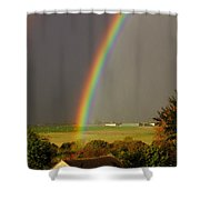 Gonzalo Rainbow Shower Curtain