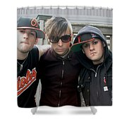Good Charlotte Shower Curtain