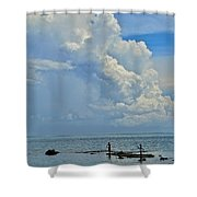 Good Day For Fishing Shower Curtain