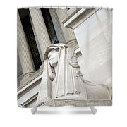 Good Day Sweetie -- A Friendly Sphinx Shower Curtain