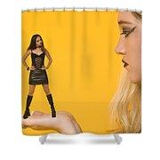Good Girl Shower Curtain