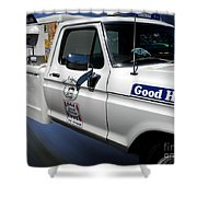 Good Humor Ice Cream Truck 02 Shower Curtain