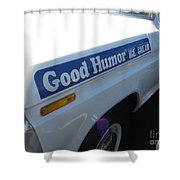 Good Humor Ice Cream Truck 03 Shower Curtain
