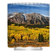Good Morning Colorado Shower Curtain