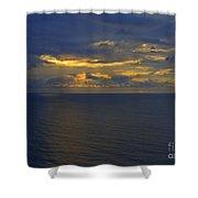 Good Morning Coronado Shower Curtain