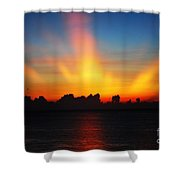 Good Morning Fort Laurderdale Shower Curtain