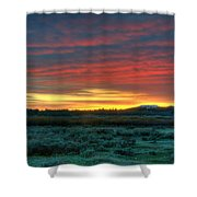 Good Morning Jackson Hole Shower Curtain