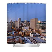 Good Morning Portland II Shower Curtain