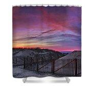 Good Night Cape Cod Shower Curtain