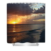 Good Night Sanibel Island Shower Curtain