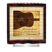 Good Ole Boys - Don Williams Shower Curtain